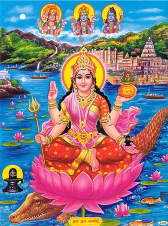 Maa Narmada India